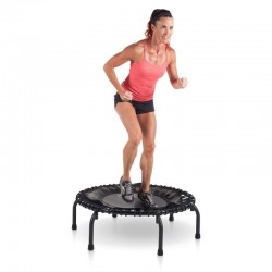 JumpSport 220 Fitness Trampoline, In-Home Mini Rebounder